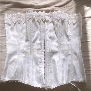 Frederick's of Hollywood Intimates & Sleepwear - White Fredericks Corset